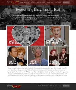 Everything Lucille Ball