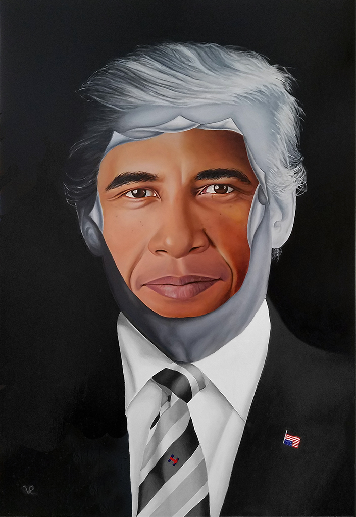 45's Obsession, 24x16, Oil on Panel by Vic Ritchey