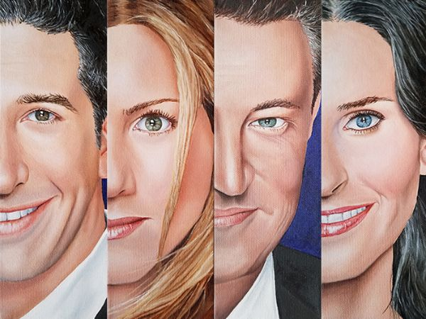 The Cast of Friends TV Show