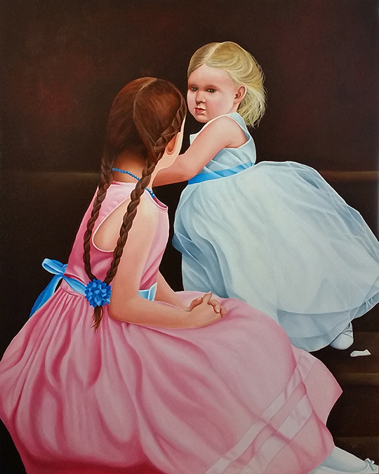The Youngest Bridesmaid by Vic Ritchey