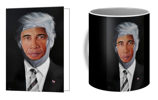 45's Obsession Notecards and Coffee Mugs